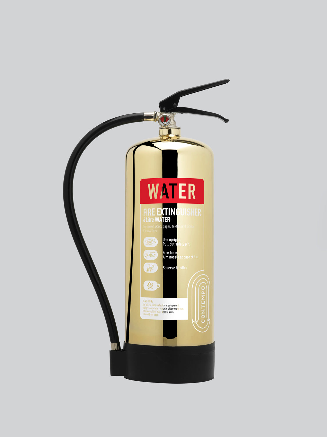 Commander Contempo 6ltr Water - Polished Gold - HartsonFire