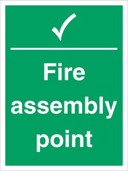 Fire Assembly Point sign Standard - HartsonFire