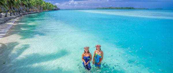 Aitutaki - Private Island - Cook Islands | Little Miss Meteo