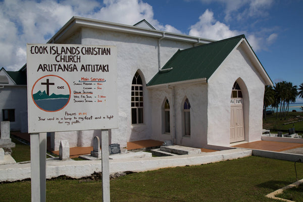 Arutanga Christian Church - Cook Islands | Little Miss Meteo