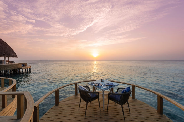 Overwater signature restaurant, Eclipse - Universal Resorts - Faarufushi - Maldives | Little Miss Meteo