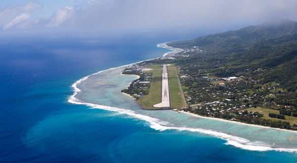 Scenic Flight - Cook Islands | Little Miss Meteo