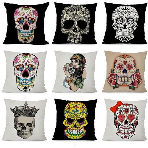 Day of the Dead Collection Cushion Covers