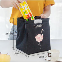Flamingo Insulated Lunch bag