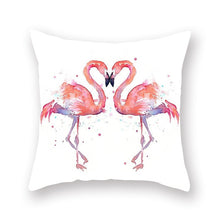 Pink Flamingo Cushion Covers