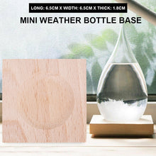 Wooden Base for Water Drop Shaped Storm Glass