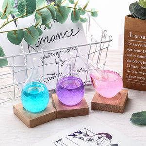 Pastel Water Drop Storm Glass