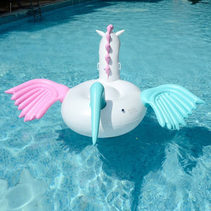 Giant Pegasus & Unicorn Floating Beds
