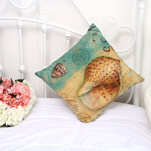 Sea Shells Cushion Covers