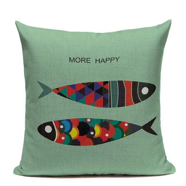 Fin Friends Collection Cushion Covers | Little Miss Meteo