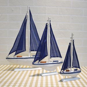 Blue Sailing Ship | Little Miss Meteo