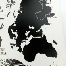 Giant World Map Wall Sticker