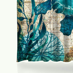 Sea Friends Shower Curtains
