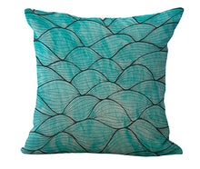 Blue Sea Collection Cushion Covers | Little Miss Meteo