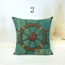 Anchor & Compass Cushion Covers