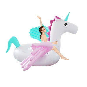 Giant Pegasus & Unicorn Floating Beds | Little Miss Meteo