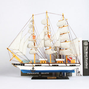 Mediterranean White Sailing Ship
