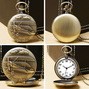 Fokker Plane Pocket Watch | Little Miss Meteo