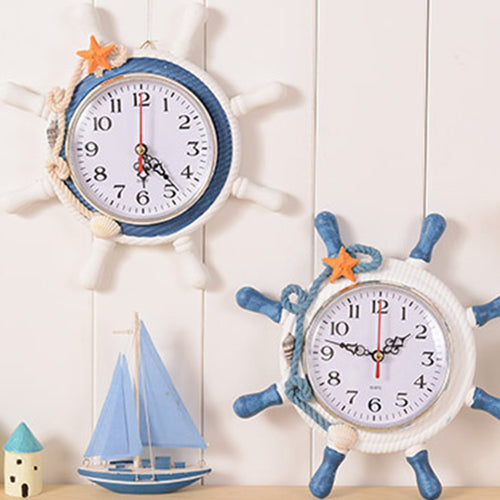 Mediterranean Wall Clock | Little Miss Meteo