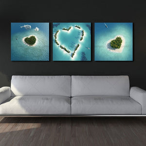 Heart-Shaped Islands - 3 pcs | Little Miss Meteo