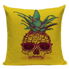 Pineapple Skull Swag Collection Cushion Covers | Little Miss Meteo