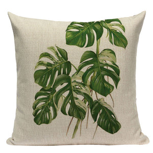 Tropical Leaves Collection Cushion Covers