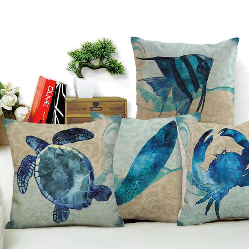 Blue Friends Cushion Covers | Little Miss Meteo
