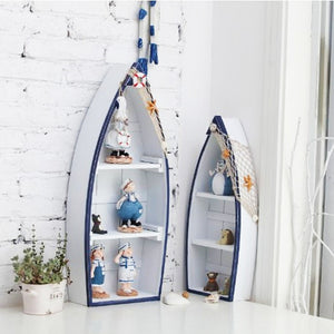 Mediterranean Style Fishing Boat Shaped Cabinets | Little Miss Meteo