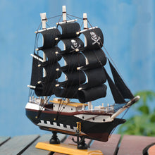 Black Pearl, the Pirate Sailing Ship