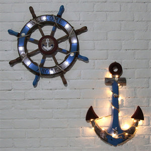 Blue Anchor With LED Lights