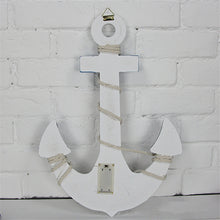 White Anchor with LED Lights
