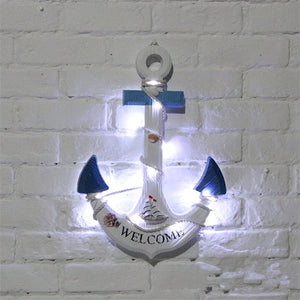 Anchor with LED lights | Little Miss Meteo
