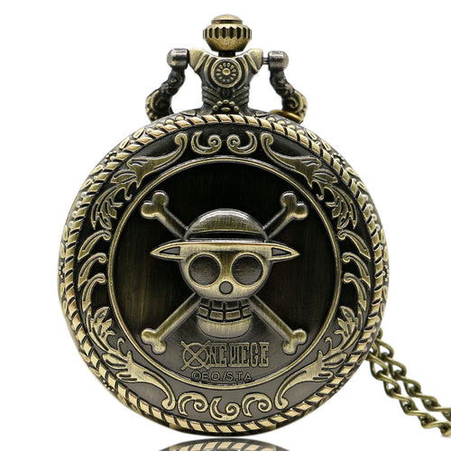 Pirate Skull Pocket Watch | Little Miss Meteo