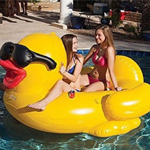Giant Inflatable Yellow Duck