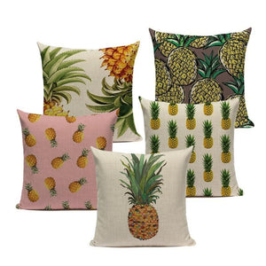 Miss Pineapple Collection Cushion Covers | Little Miss Meteo