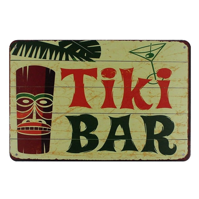 Tiki Bar | Little Miss Meteo