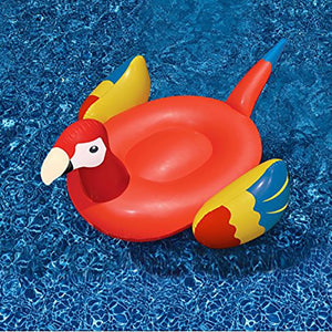 Giant Inflatable Parrots Floating Bed | Little Miss Meteo