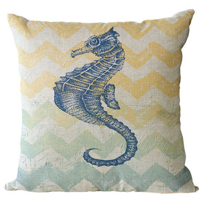 Seahorses & Friends Cushion Covers