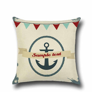 Anchor, Boat & Shells Cushion Covers