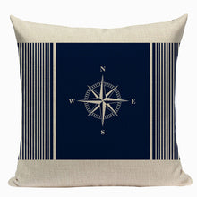 Atlantic & Sailing Collection Cushion Cover | Little Miss Meteo