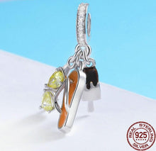 925 Sterling Silver Sunglasses, Flip Flop & Ice Cream