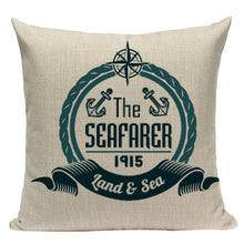 Land & Sea Collection Cushion Cover | Little Miss Meteo