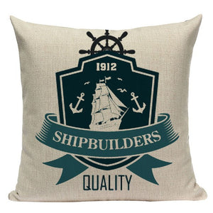Land & Sea Collection Cushion Covers