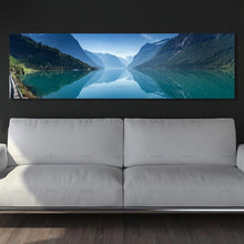Norwegian fjord, waterfalls in Croatia and lake in Canada - 3 choices of landscape canvas | Little Miss Meteo