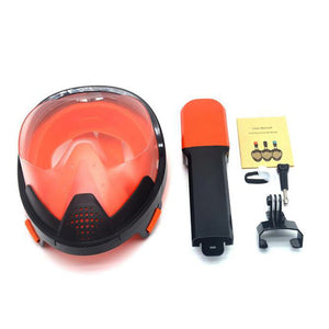 2019 Easybreath Full Face Snorkeling Mask