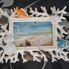 Mediterranean Photo Frame Shells | Little Miss Meteo