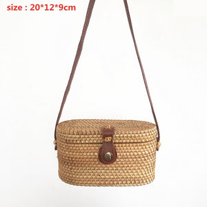 Bohemian Rattan Basket Bags | Little Miss Meteo