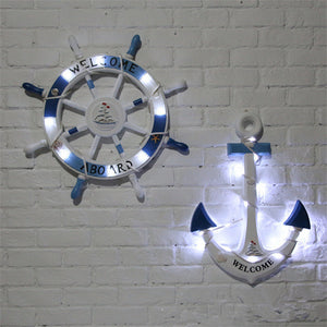 Rudder & Sailing Ship with LED lights | Little Miss Meteo