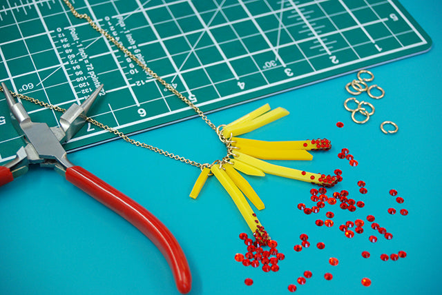 Get crafty at our Deluxe Fries Necklace workshop