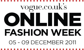 Vogue's Online Fashion Week starts today!